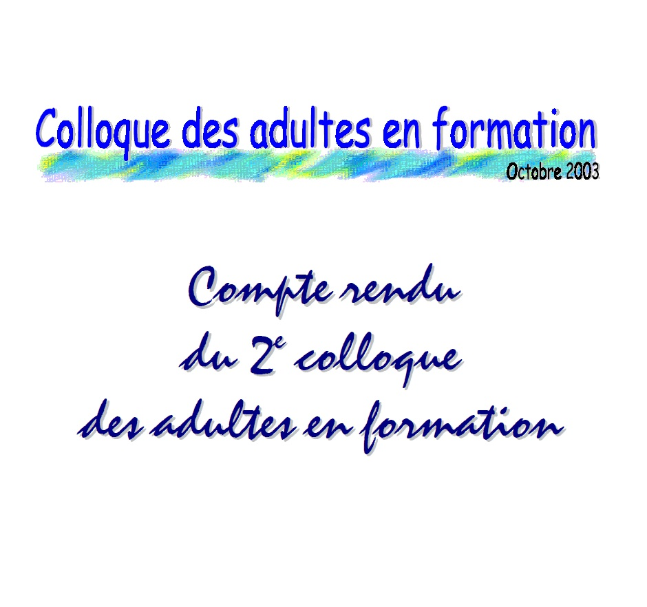 Logo du 2e colloque